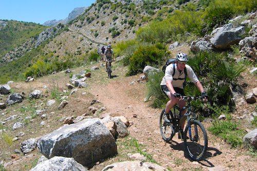 Mountain bike Ojén