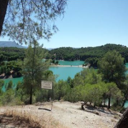 El Chorro and lakes