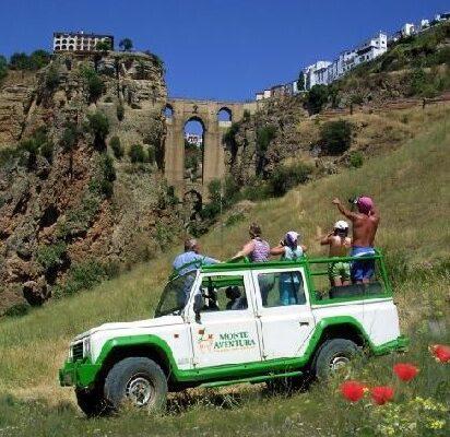 Monte Aventura jeepsafari
