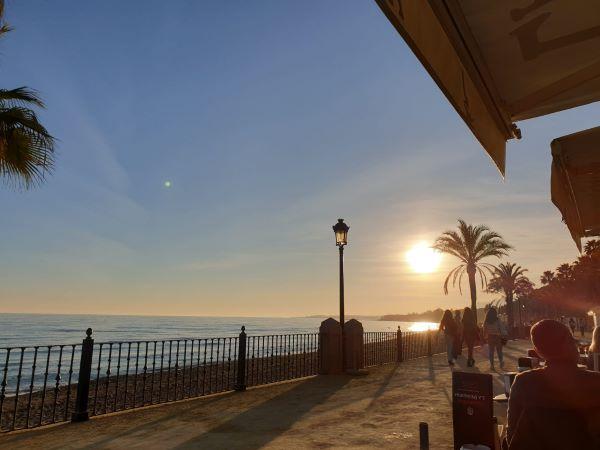 Marbella evening walk