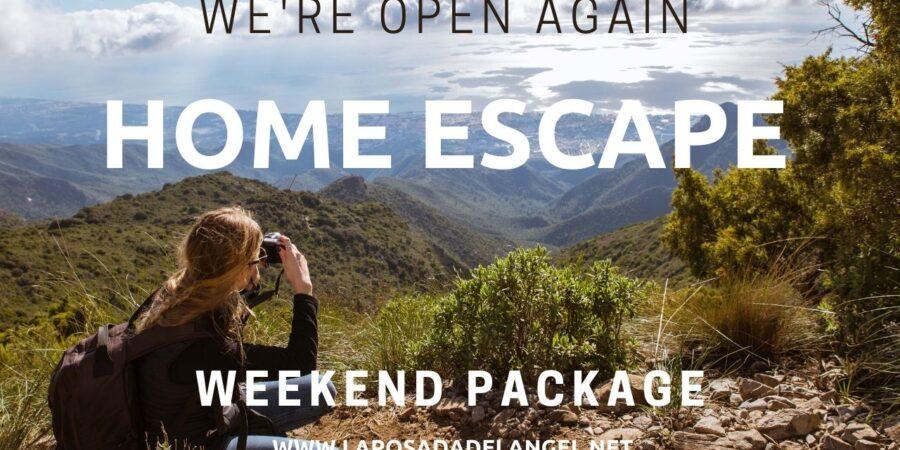 Mountain home escape
